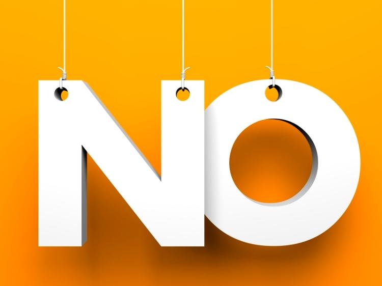 """""""NO"""": es una palabra poderosa, aprende a utilizarla para aumentar la productividad"""