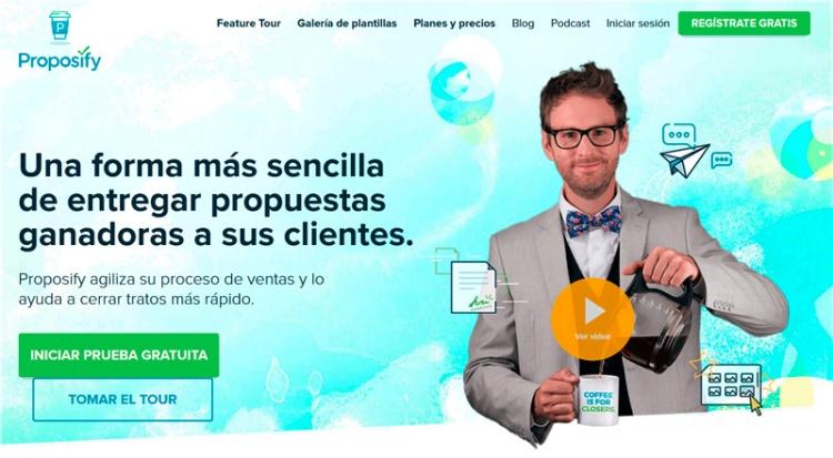 Proposify (Plantillas: Propuestas para clientes)