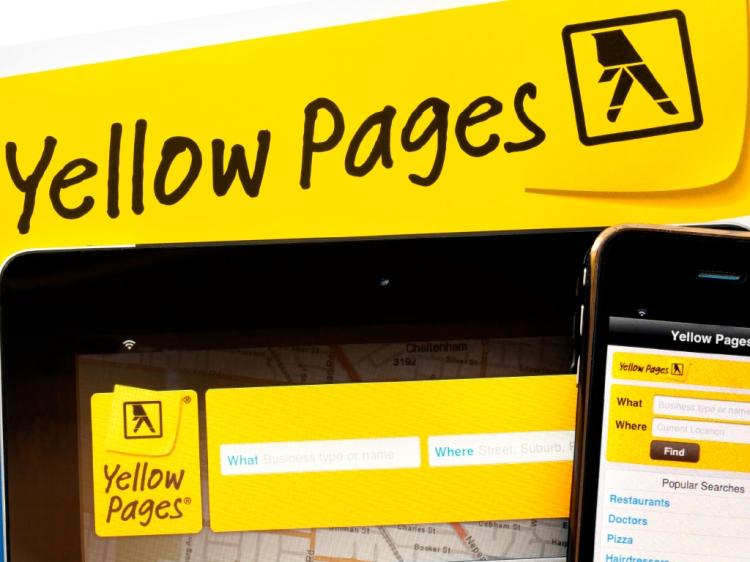 Yellow Pages es un ejemplo de directorio virtual